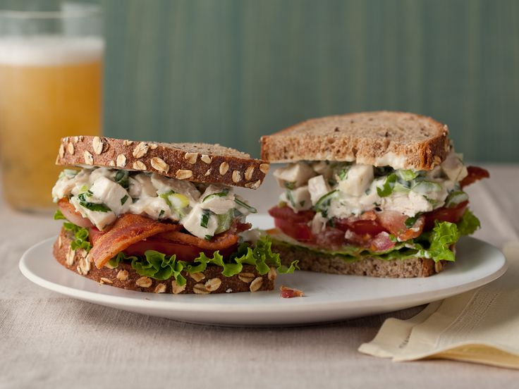 Food Network's Chicken Salad recipe. Tried this today with rotisserie chicken from Costco. It's delicious!!!