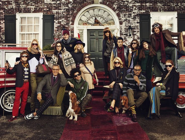TOMMY HILFIGER FALL WINTER 2011 AD CAMPAIGN. Looks a lot like the Tenembaums