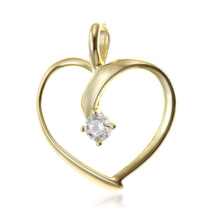 Pandant inimioara cu piatra , bijuterii din aur alb, aur roz, aur galben, realizate de bijuteria Safir. Pentru mai multe detalii va rugam sa ne contactati.