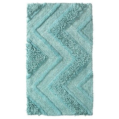 "Room Essentials® Bath Rug - Sea Breeze (20x34"") : Target Mobile: Bath Rugs, Bath Blue Green Rugs, Sea Breeze, Bathroom Remodel, Apartment, Breeze Bath, Breeze 20X34, Rooms Essential, Mermaids Bathroom"