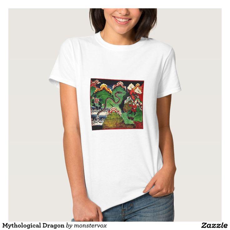 Mythological Dragon T Shirt #Mythological #Mythology #Dragon #Asian #Art #Shirt #Tshirt #Tee #Fashion