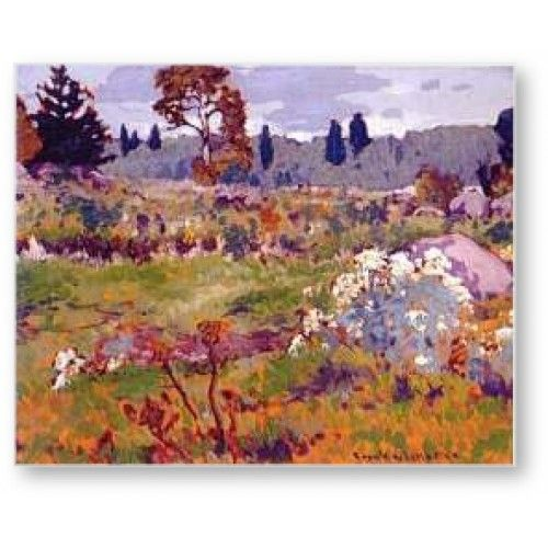 Frank Johnston - Berry Patch 1920 ~ Group of Seven