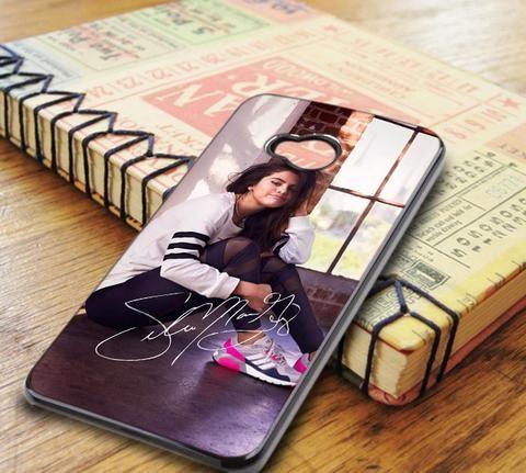 Selena Gomez Signature Cute HTC One M7 Case