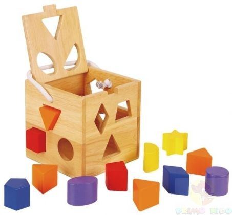 Cubo formine in legno