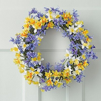 Buy Floral Easter Wreath from Museum Selection. 38. 11ins