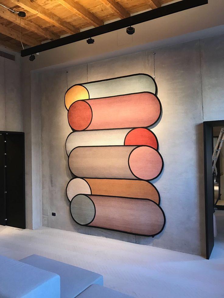 rotazioni rug from cc tapis | patricia urquiola #interior #design #ap