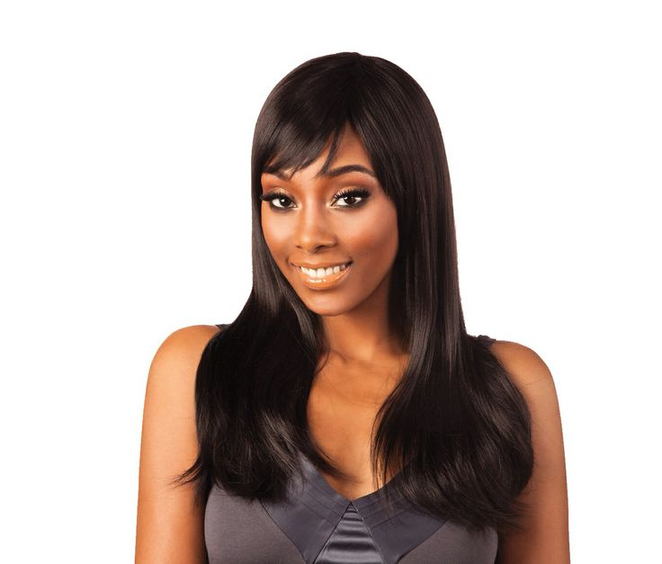 Here is our longer length Nominee 03 which had a natural thick curl towards the end of the wig, u can straighten this with a heat styler on very low heat or u can wet it and get that sexy diva look that I know you are dying to show off and I know you can do it ladies! This is such a soft natural wig that can be worn to work like that or diva'd up for that party not to be missed!