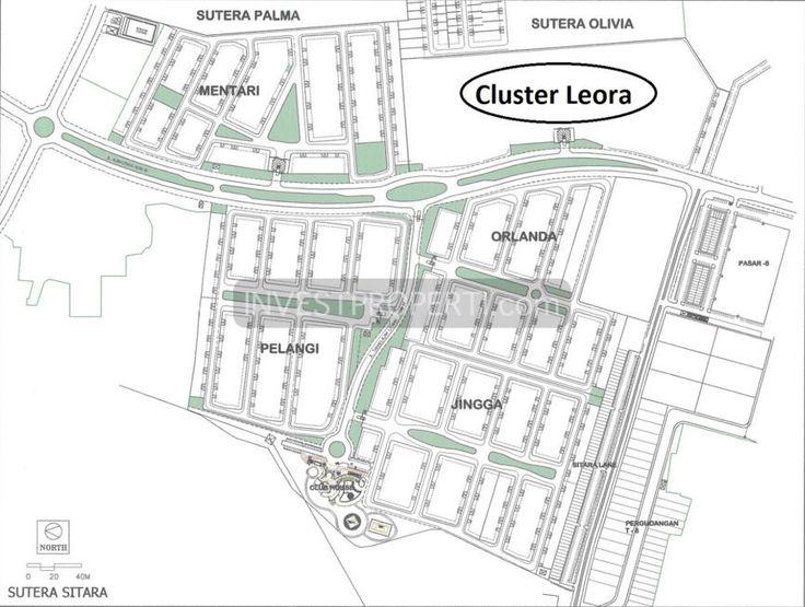 Lokasi cluster Leora di Alam Sutera Tangerang. #leoraalamsutera