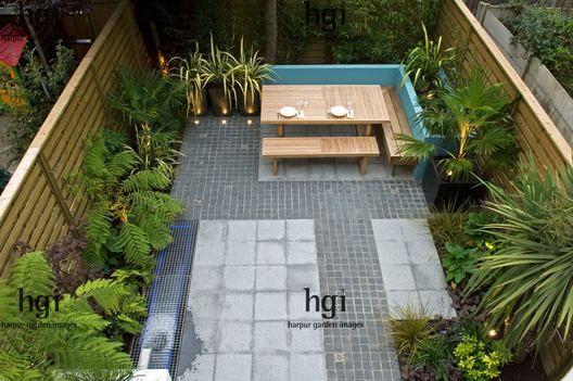 17 best images about garden ideas on pinterest gardens for Contemporary courtyard garden designs