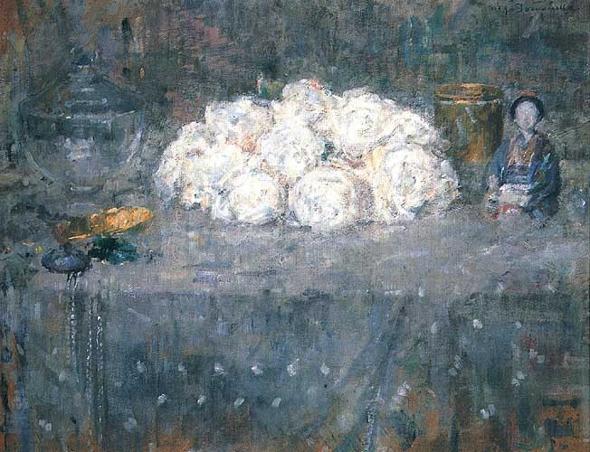 kwiaty - Olga Boznańska