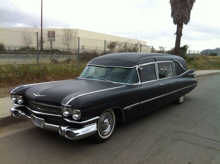 1959 Cadillac Miller Meteor Hearse