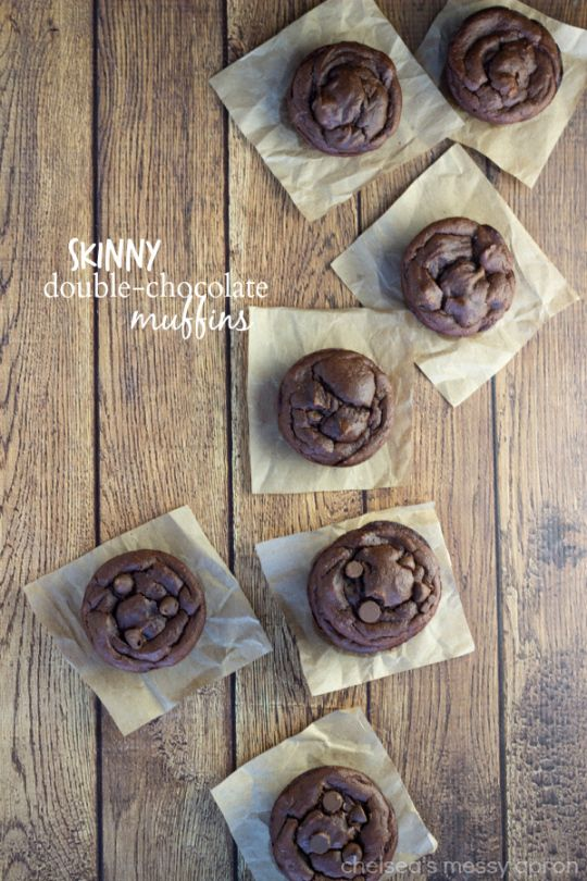 These double chocolate muffins have no butter, no oil, and no flour. They are made with very little sugar and taste fantastic - sure to be a...