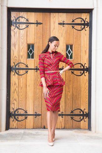 Melange Mode African Print Crop Top. by MelangeMode on Etsy