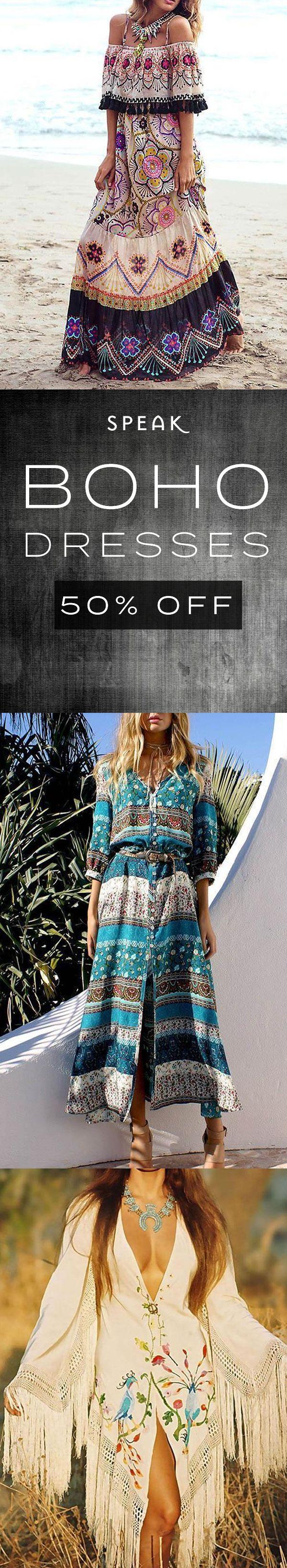 Boho Dress Flash Sale – 50% Off All Boho Dresses!