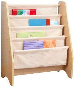 KidKraft Sling Bookshelf - Natural : Childrens Storage Furniture : Toys & Games (saw this on Instagram today - kid friendly bookshelf)