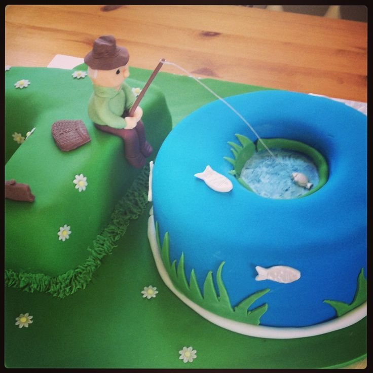 70th Birthday Fishing Quotes By Quotesgram Cakes