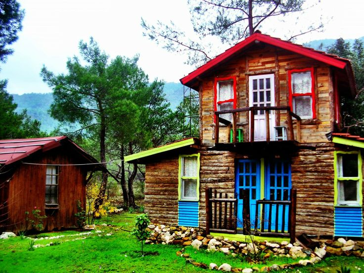 Olympos Wooden Houses, Antalya