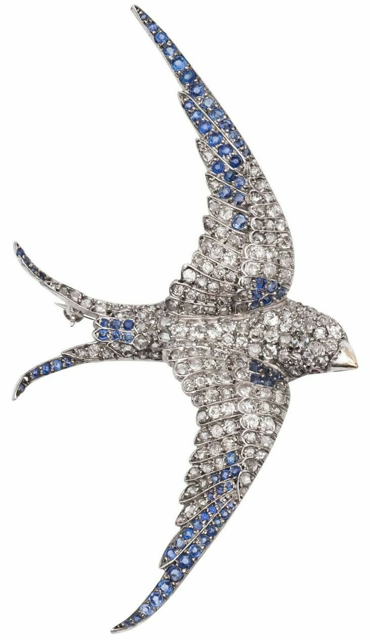 4e81352f2 Sophie's brooch on her cape in Everblaze. Blue Swallow, Swallow Bird, Bird  Jewelry, Jewelry Art, Antique Jewelry, Vintage