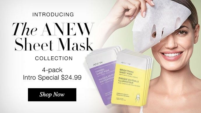 Inspired by ancient Asian beauty rituals, the sheet masks hold a generous amount ofserumand are designed to fit the contours of your face like asecond skinto reduce evaporation.Infused essencesare continuously and evenly released forimmediateandenhancedbenefits. www.youravon.com/dperry723