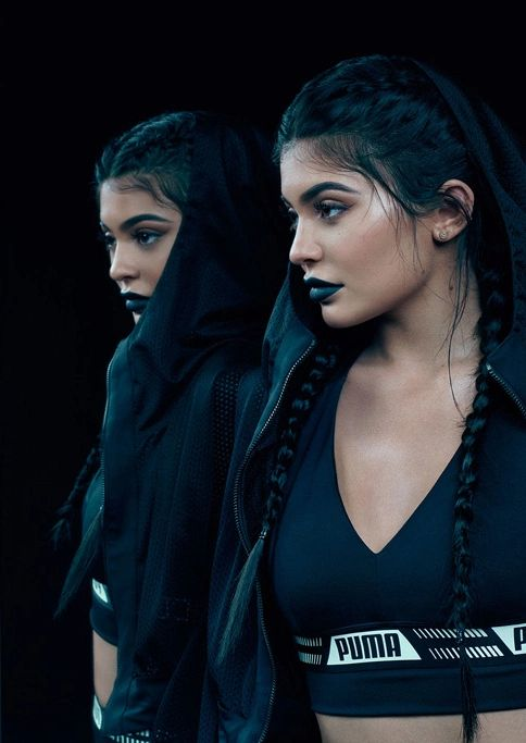 """kendall-kyliee: """"Kylie for Puma Forever Fierce """""""