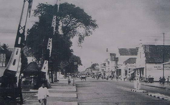 Malioboro Street, Yogyakarta, Indonesia, 1936.