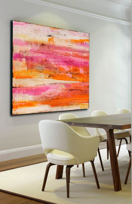 Giant Colorful abstract Painting