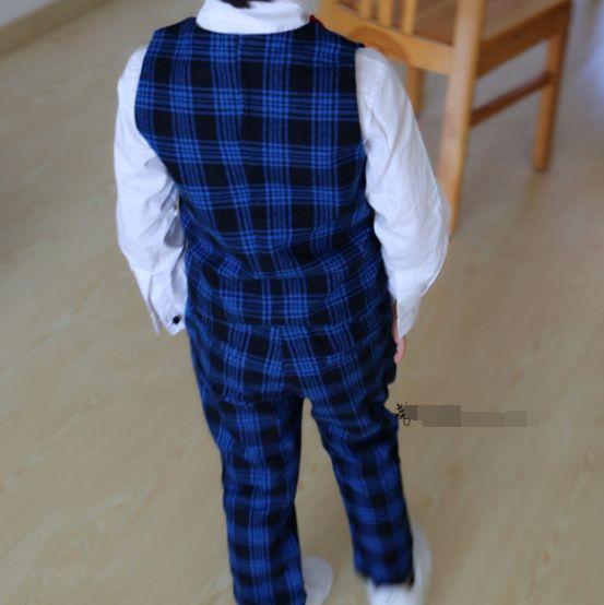 Костюм детский в клетку тройка. от 5 лет до 15 лет, цена от 1300 грн., купить в Бердянске — Prom.ua (ID#114457829)