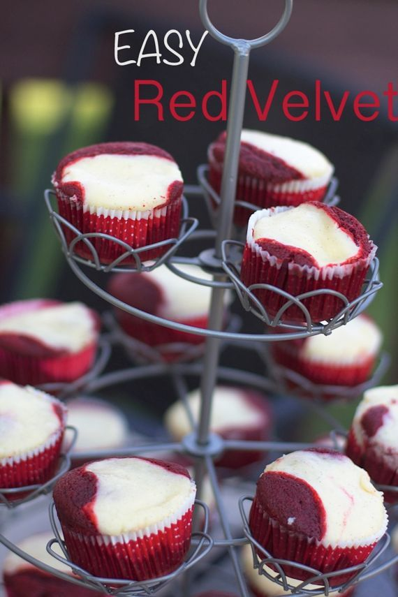 Red Velvet Cheesecake Cupcakes Recipe on Yummly. @yummly #recipe