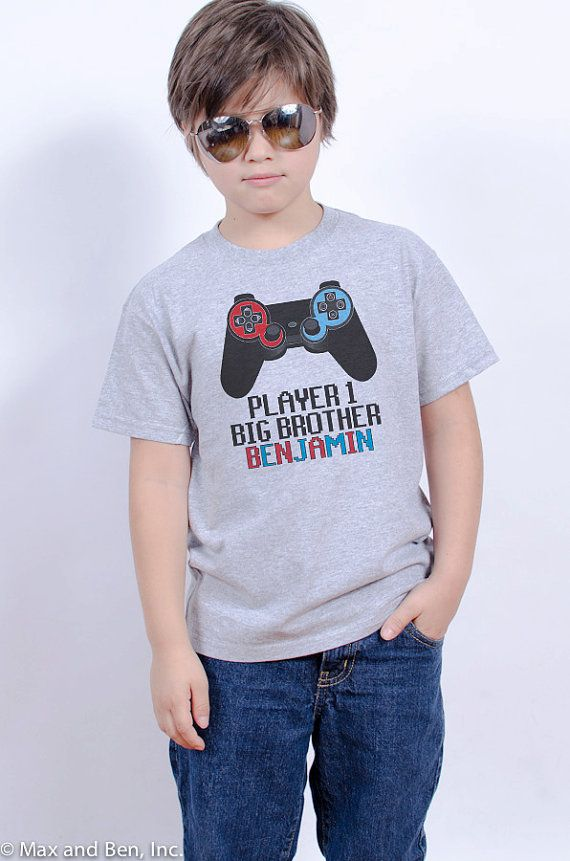 Big  Brother Shirt  Video Game Big  Brother by REVOLUTION46R46