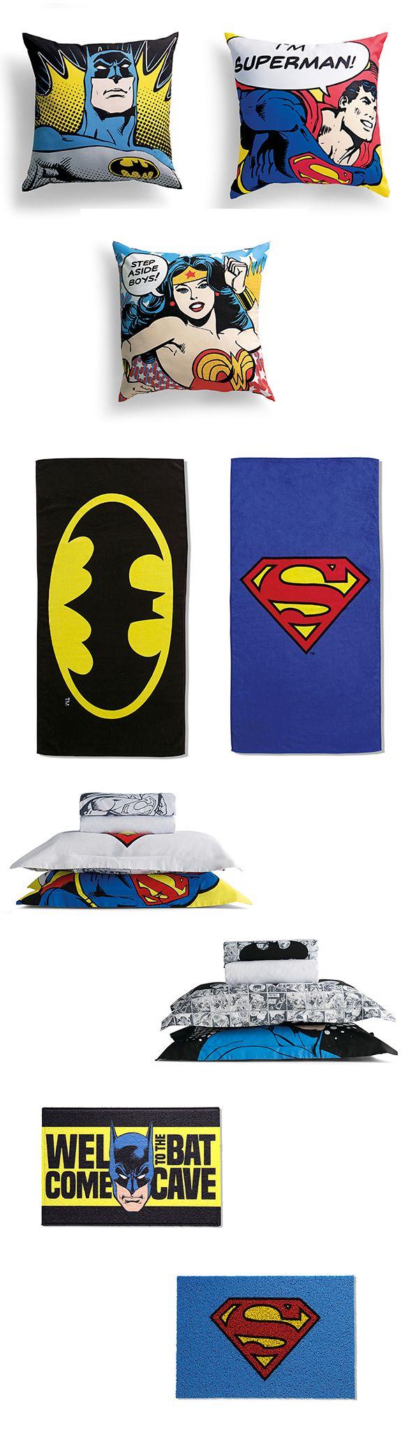 Blog Estação - Batman vs. Superman: Moda Casa | Riachuelo - O Abraço da Moda