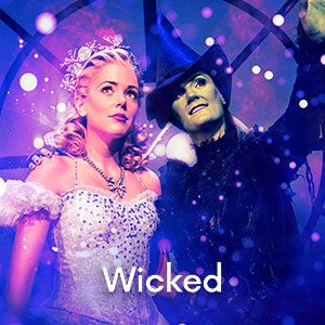 Tickets for Wicked available on Ticketnetwork!