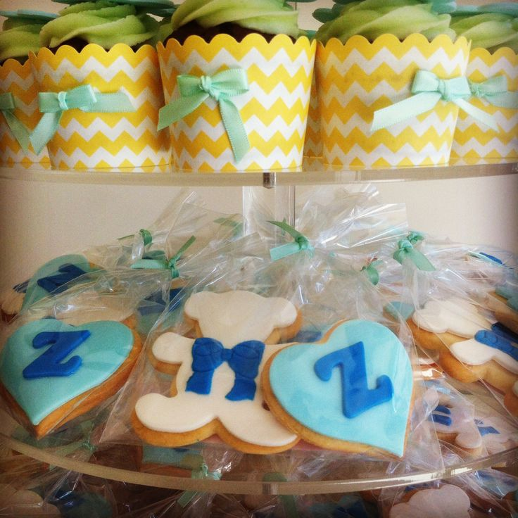 Mint themed Baby Shower.