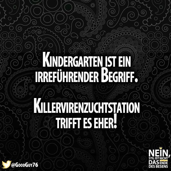 Trifft es ganz gut :D #Kindergarten #Killerviren #Kinder #Lustig #Lachenistgesund #besenstilvoll