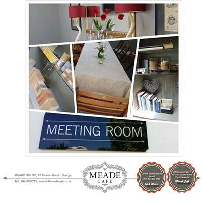 Our gorgeous private meeting room at Meade Cafe George is perfect for a change of scenery for those Monday meetings, or any other meetings / events to be honest - call us if you'd like to book a special event: 044 873 6755 #meadecafe #meetings