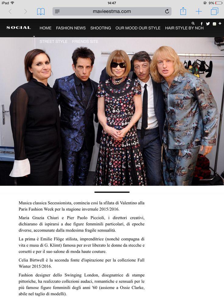 Articolo per MaVieEstMa.com Valentino alla Paris Fashion Week! #pfw #valentino #guidagalatticaperfashionisti #moda #mavieestma #fashion #zoolander  http://www.mavieestma.com/articolo-126-fashion-news-barra-.html