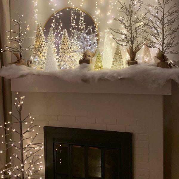 Pin On Christmas Mantels