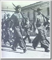 Haarlson Phillipps: The MINISTRY OF TRUTH: D.J. Taylor - Orwell -The Life: Assault Guards during the May, 1937 events.