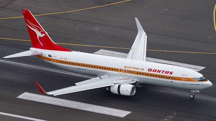 Qantas Boeing 737-838 Retro Roo I (VH-XZP) | QANTAS ...