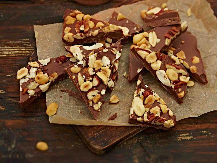 Pähkinä-suklaapalat