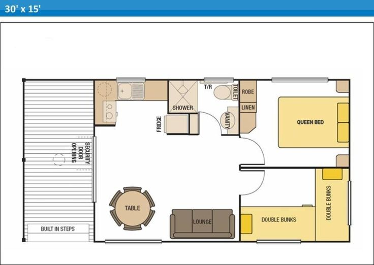 Micro cabin plans select here to view typical floor plan for Select floor plans