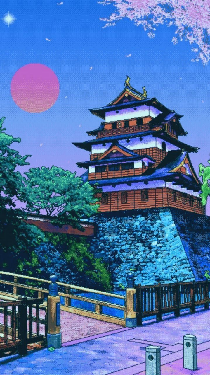 Pixel Art Wallpaper Tumblr Art Pixel Tumblr Wallpaper Wallpapertumblr In 2020 Vaporwave Wallpaper Anime Scenery Wallpaper Art Wallpaper Iphone