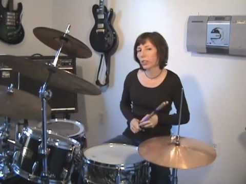 "Beginner Drum Lesson 2 ♦ The ""default"" Rock Groove"