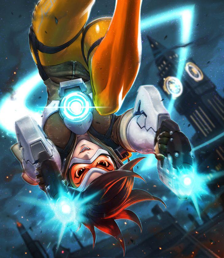 Overwatch-Blizzard-фэндомы-Tracer-3701099.png (730×840)