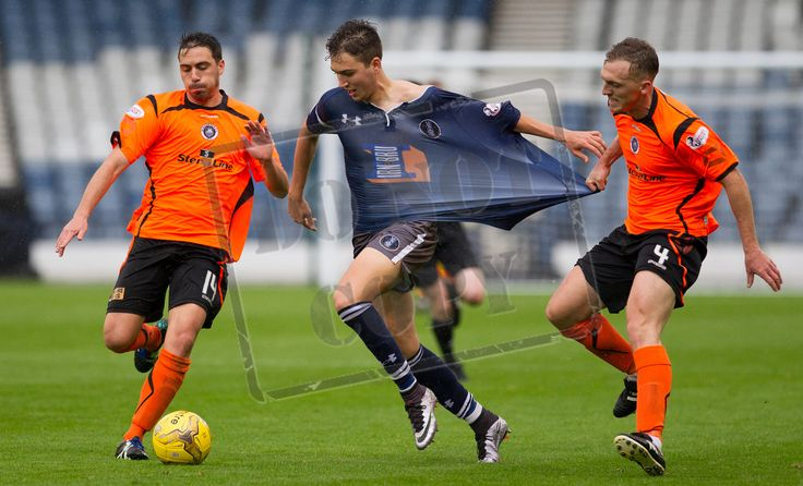 Queen's Park's Dario Zanatta in action during the Ladbrokes League One game between Queen's Park and Stranraer.