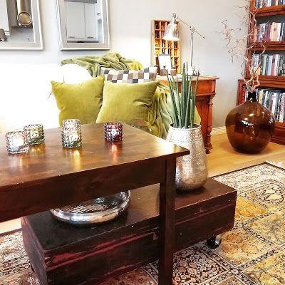 m.newcomer: Sammaloituva sohva   Minä, vanha vihreän vihaaja...