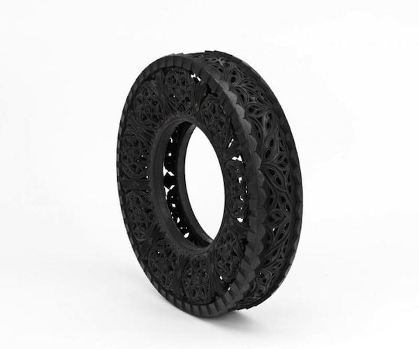 Car Tires Art #Art, #Sculpture, #Tire, #Tyre