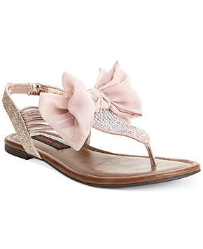 Material Girl Skylar Flat Sandals - Shoes - Macys. seriously have an obsession…