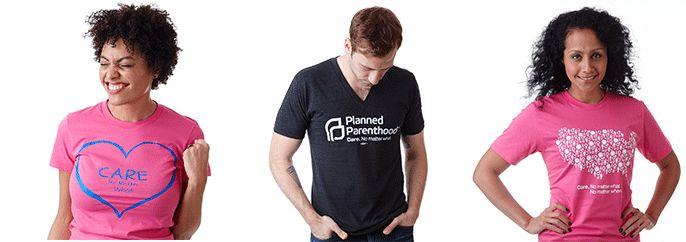 Planned Parenthood Market Place | Care. No Matter What. | T-Shirts