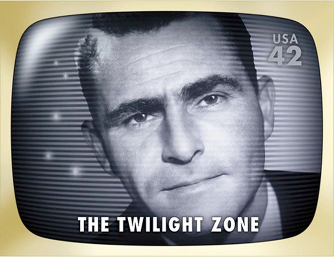 Rod Serling, The Twilight Zone Stamps USA
