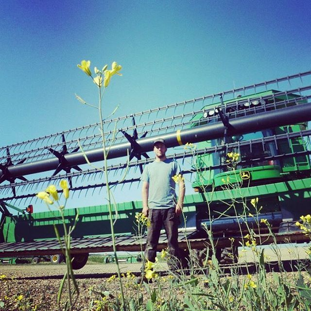Stop and smell the flowers. (By Patrick B.) #farmmachinery #agriculture #farmers
